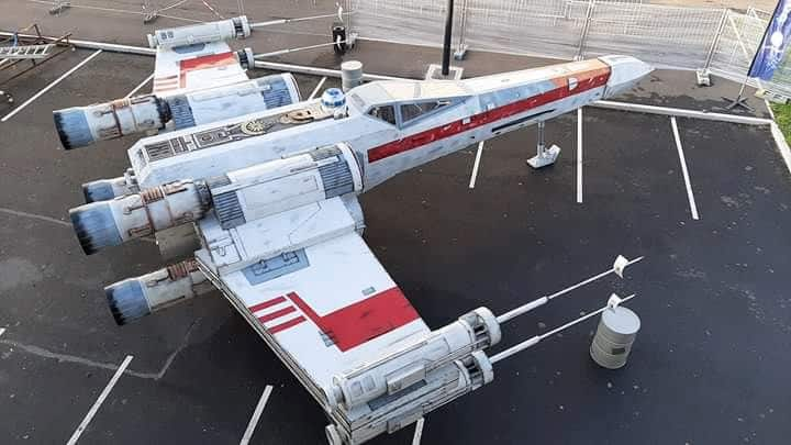 Star Wars à Arlon plus que du Cinéma ! X-wing