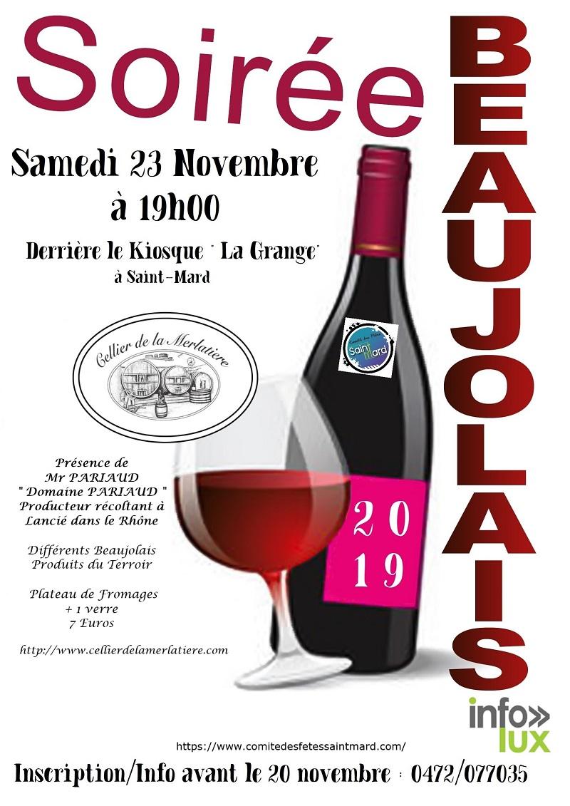Soirée Beaujolais à Saint Mard – Virton