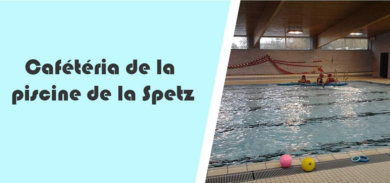 Cafétéria de la piscine de la Spetz