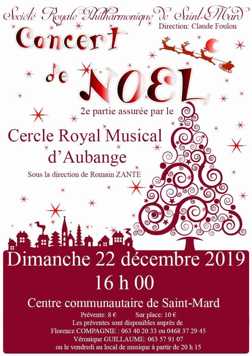 Concert de Noël à Saint Mard