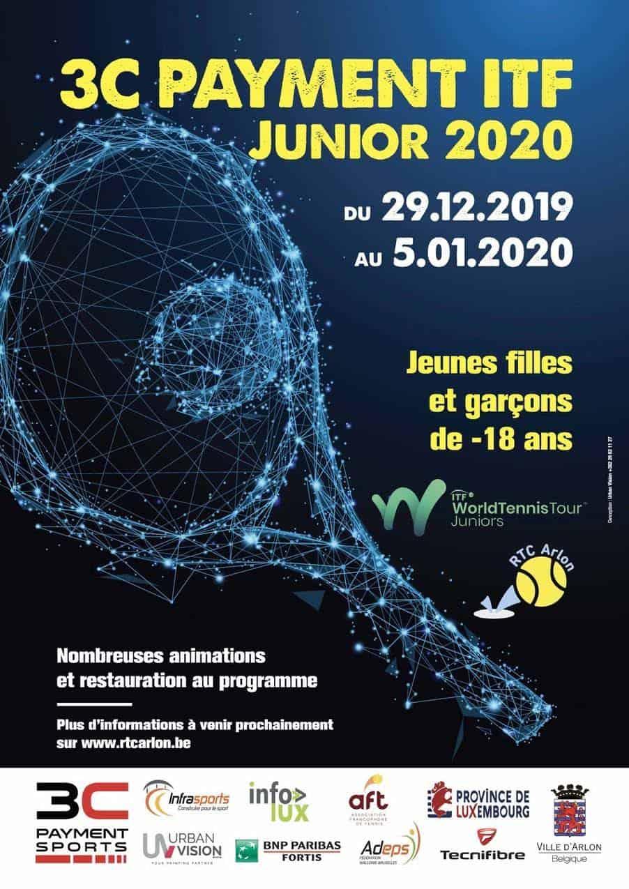 ROYAL TENNIS CLUB ARLON asbl  Tournoi jeunes 2019