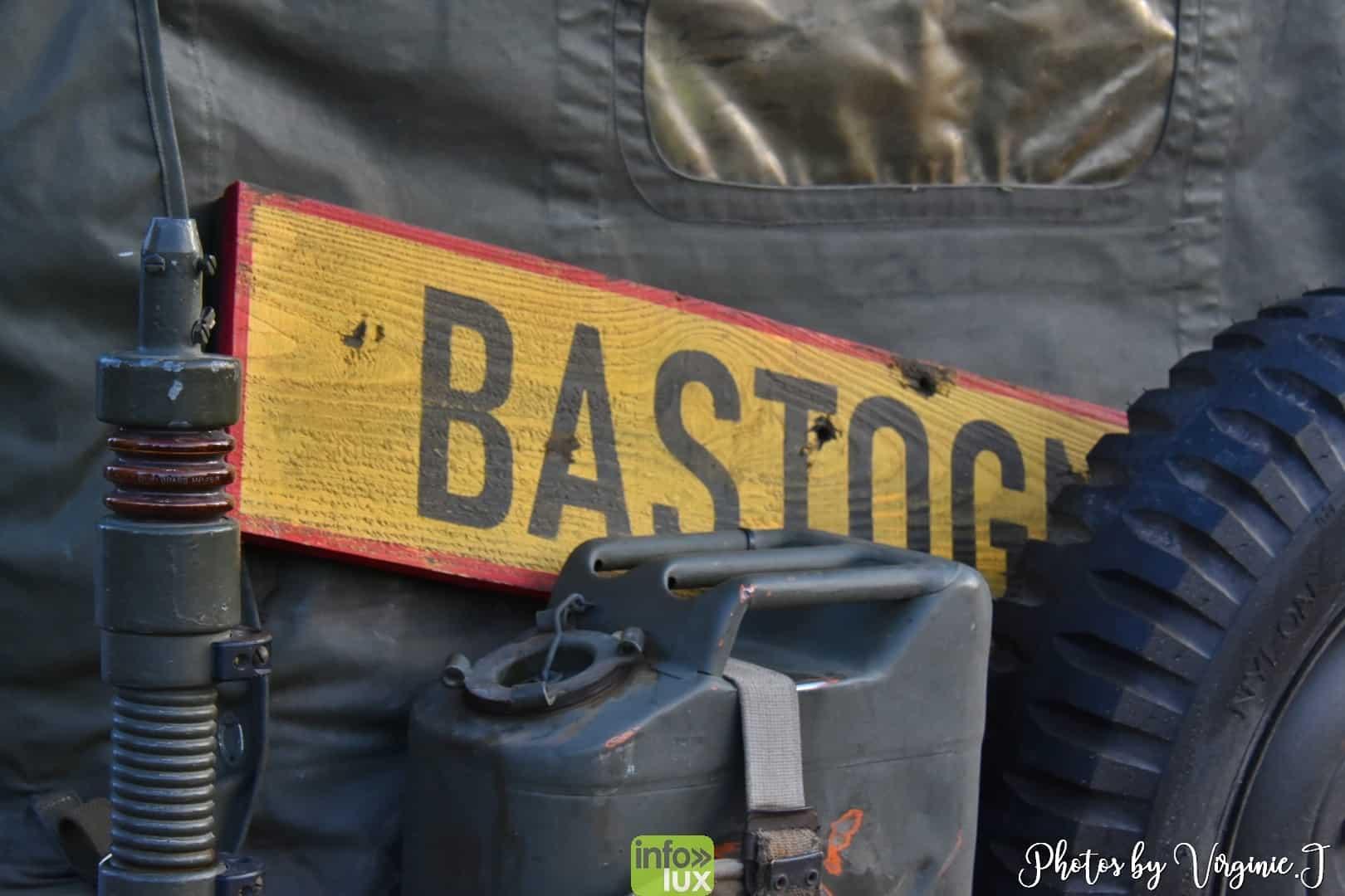 véhicules militaires à Bastogne