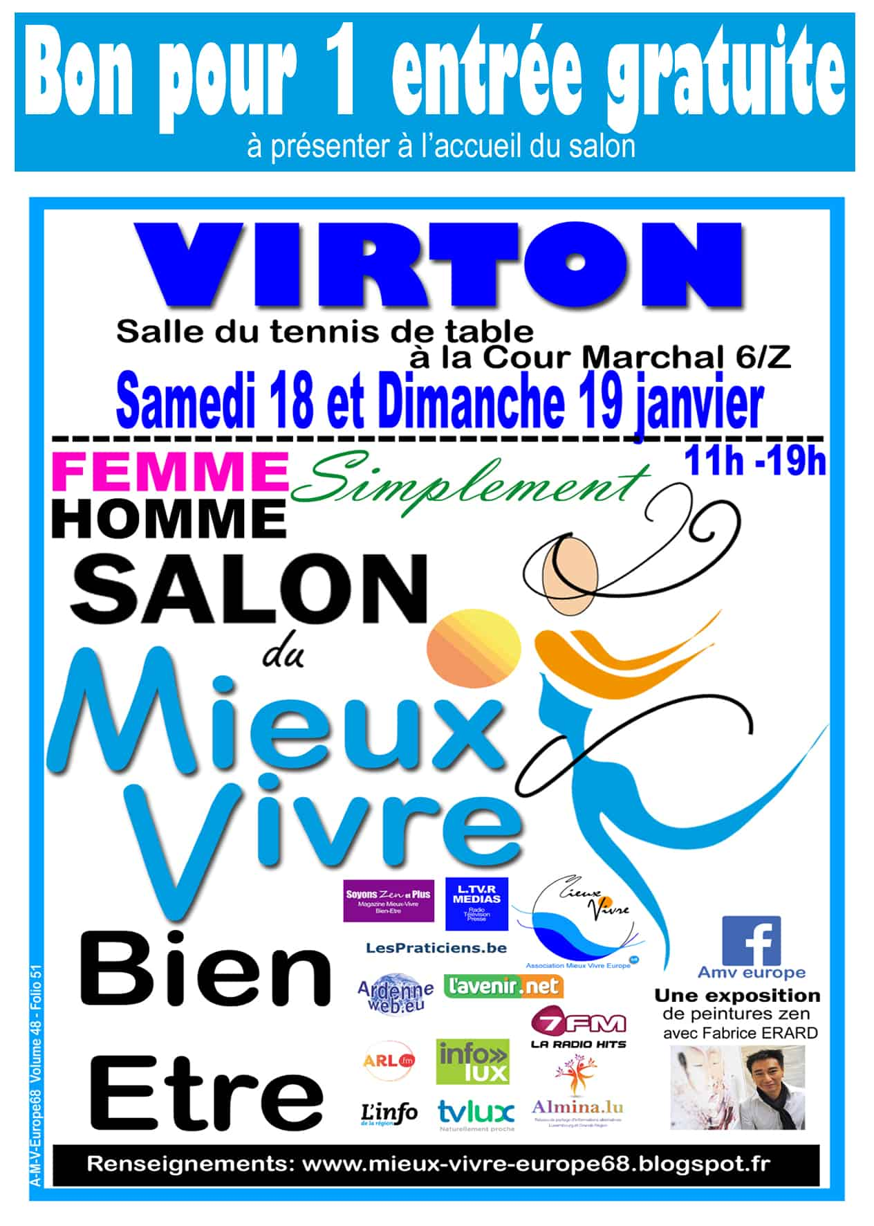 Salon bien-être Virton 18-19 janvier