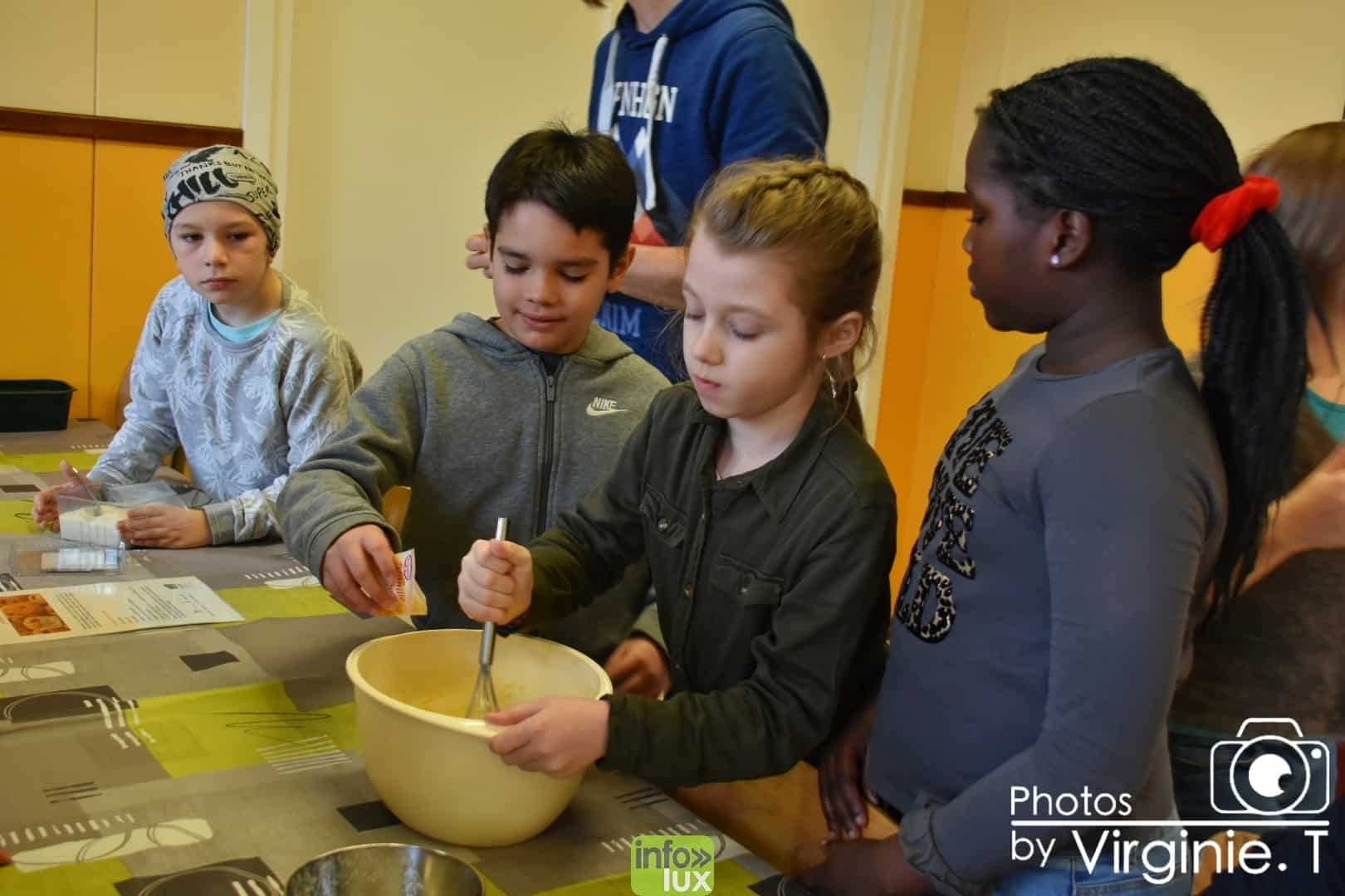 les enfants de l'Ecole du Doyard (Bastogne)
