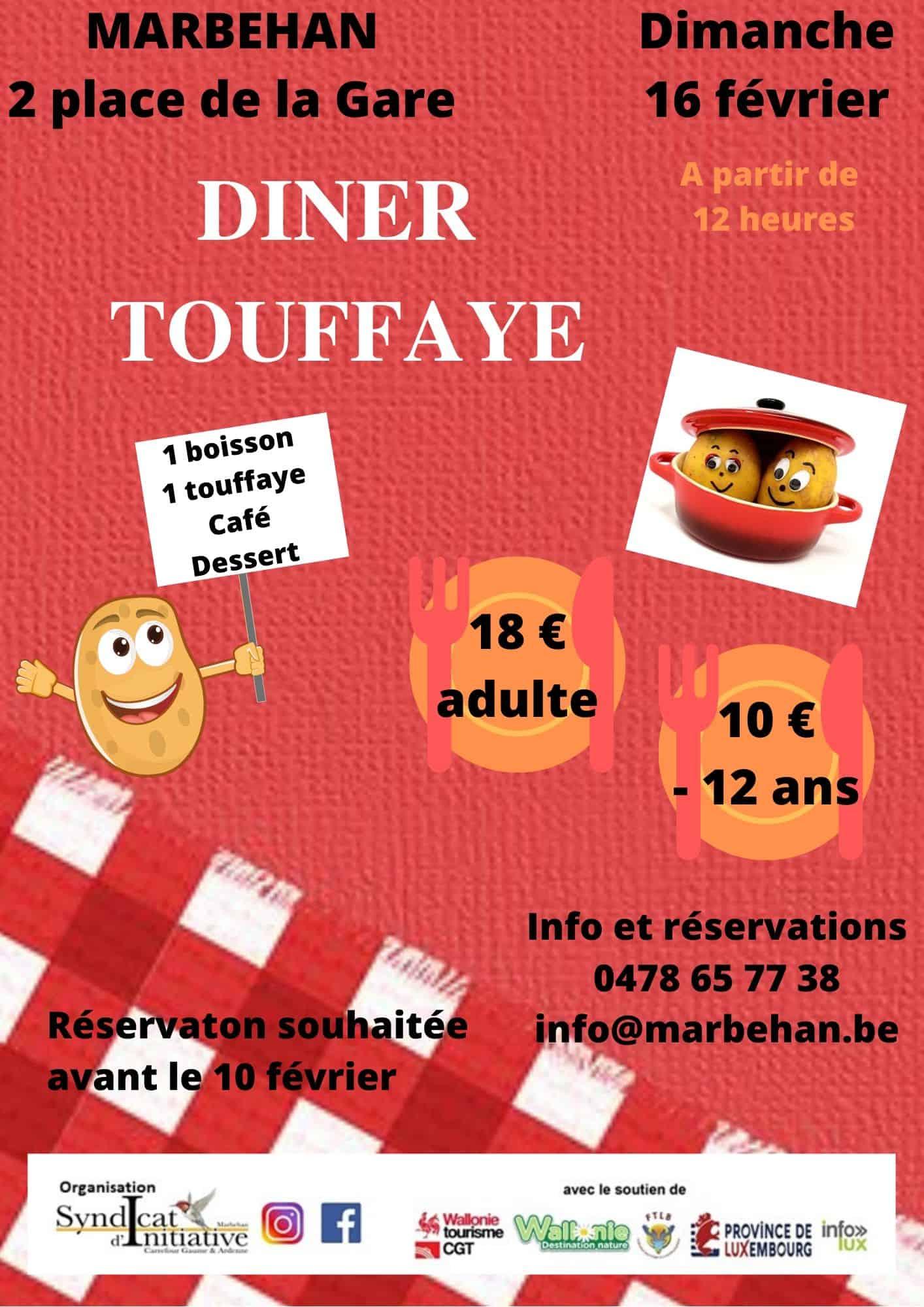 Diner Touffaye - SI Marbehan
