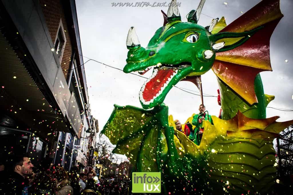La Grosse Biesse revient de la forêt enchantée. : Carnaval de Marche-en-Famenne