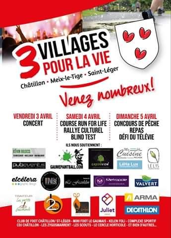 3 Village pour la Vie ; Chatillon / Meix-le-Tige /Saint-Léger