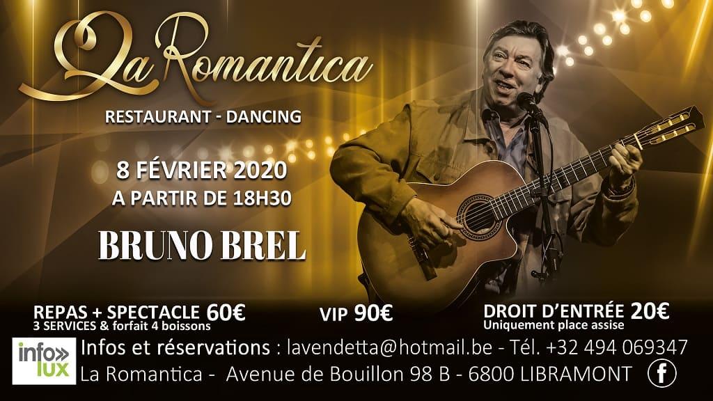 La Romantica Libramont : Bruno Brel !