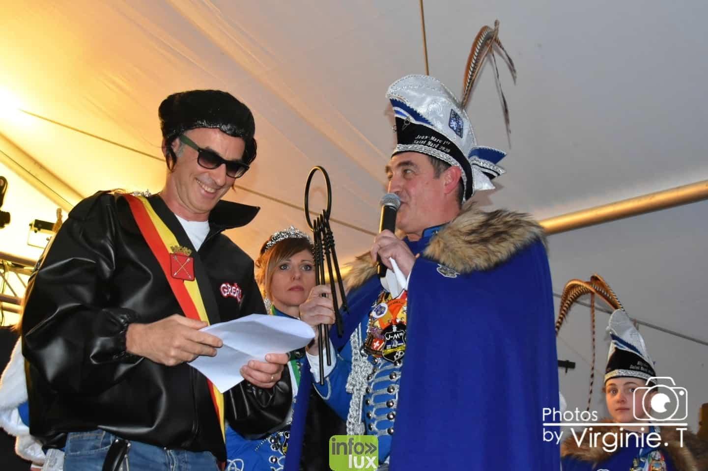 Carnaval de Virton : Photos de la remise des clés de la ville