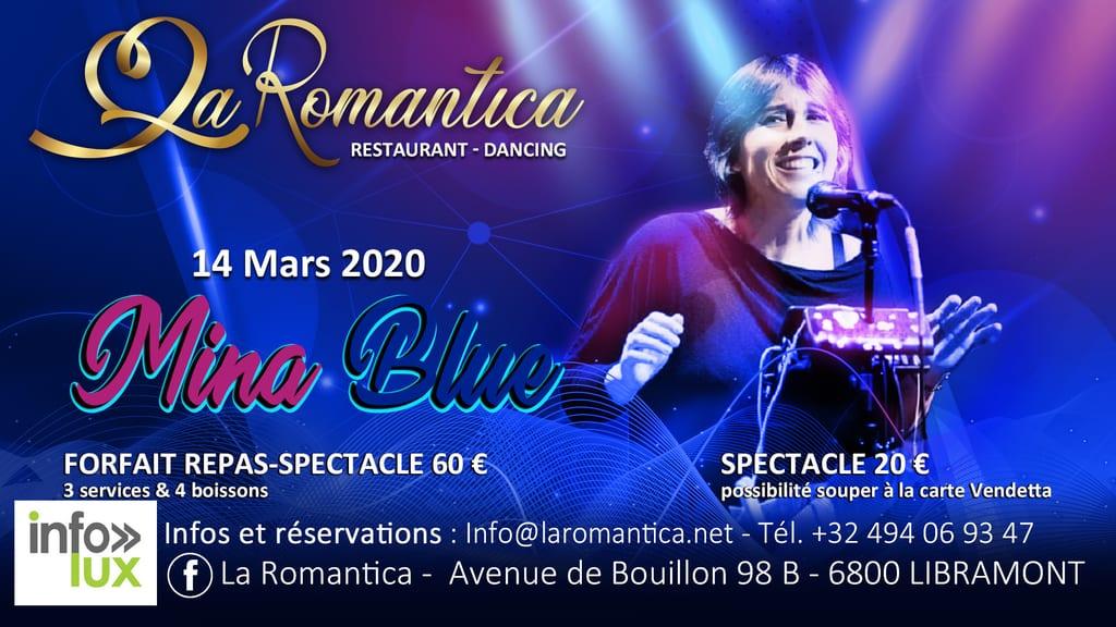RomanticaRestaurant – Dancing Libramont : Mina Blue