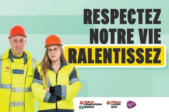 respect des travailleurs sur les autoroutes