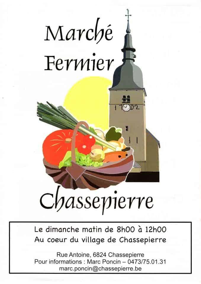 Marché fermier de Chassepierre