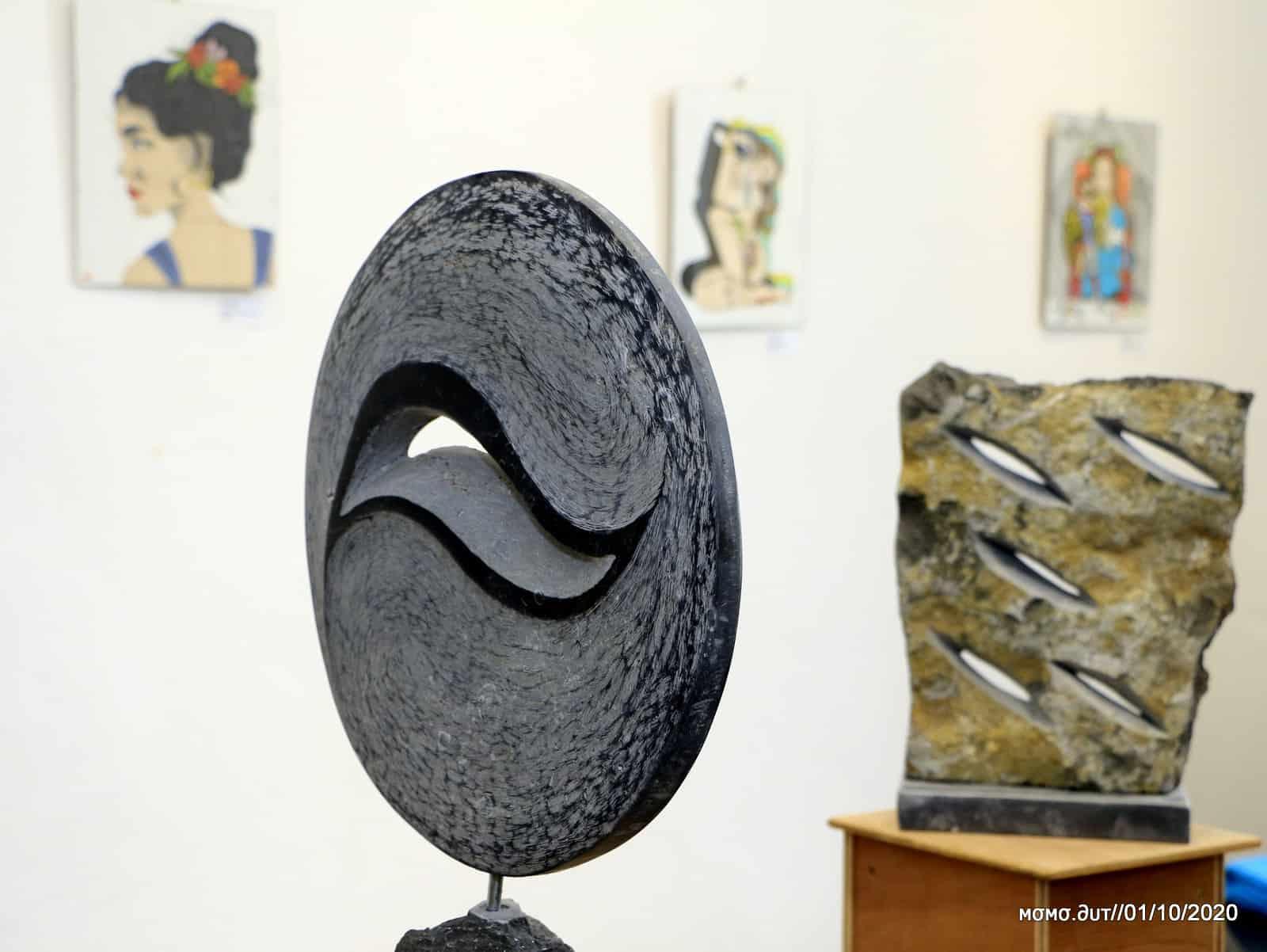 Exposition artistique au palais à Arlon