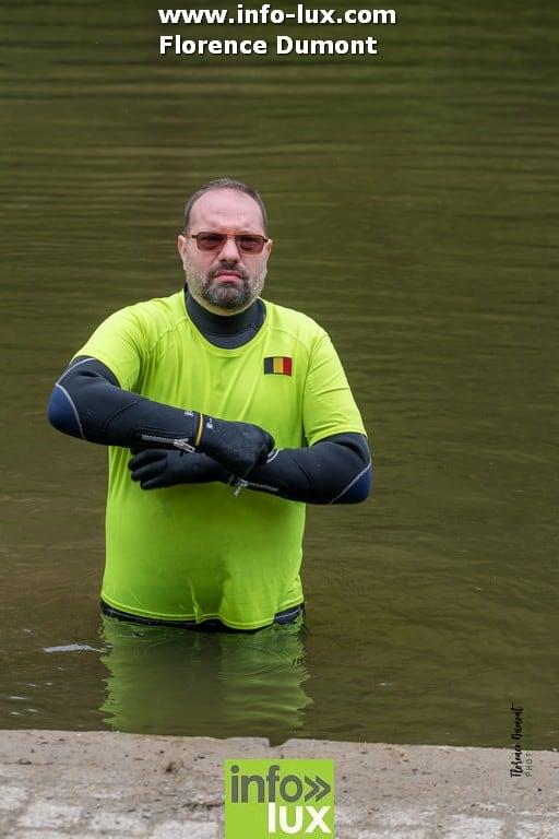 Démonstration de sauvetage aquatique à Chiny.