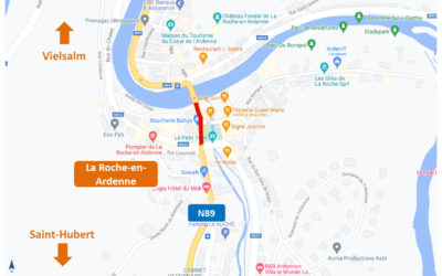 Chantier Vecmont-La Roche-en-Ardenne