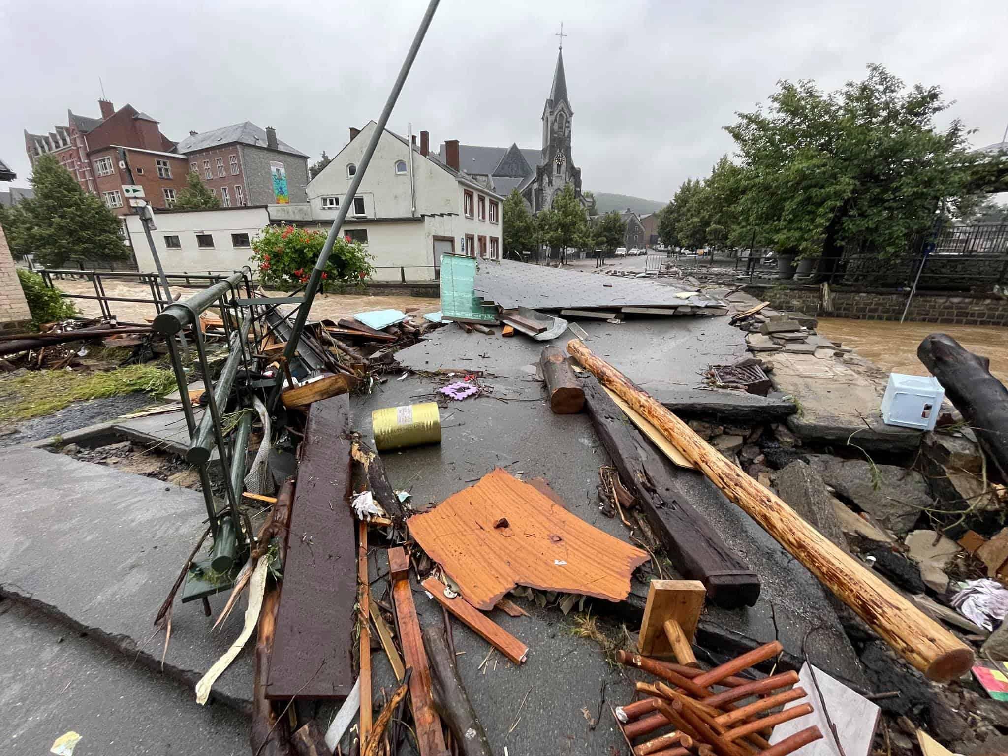 Inondations : nouvel état des lieux des principaux axes (auto)routiers et voies navigables de Wallonie
