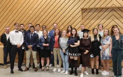 Proclamation des classes sortantes de l'Institut Cardijn Lorraine Arlon.