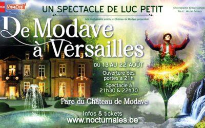 De Modave à Versailles  spectacle de Luc PETIT