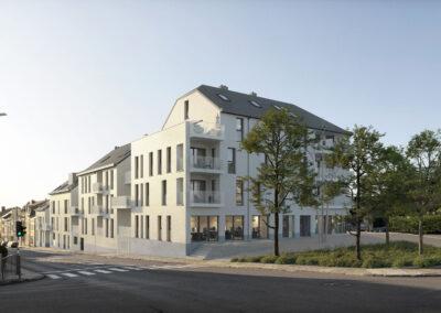 centre-ville d'Arlon accueillera prochainement un nouveau quartier résidentiel