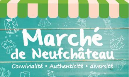MARCHÉ  DE NEUFCHÂTEAU
