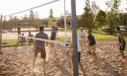 Beach-volley à Hamipré
