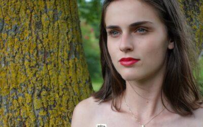 Candidate Miss Liège pour Miss Belgique 2022