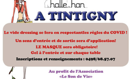 Vide Dressing  Halle de Han (Tintigny)