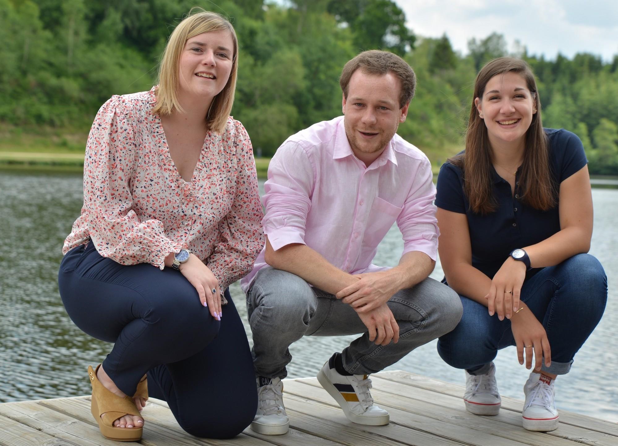 Une Luxembourgeoise dans le trio de tête des jeunes