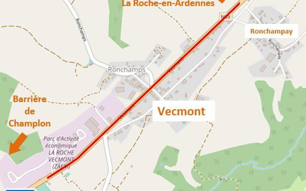 N89 – Vecmont : Travaux