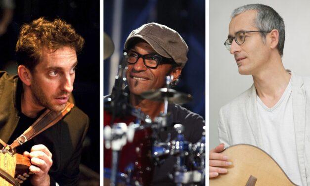 Didier Laloy,Manu Katché,&Quentin Dujardin & en concert à Arlon